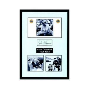 COLIN CHAPMAN SIGNATURE (FRAMED)