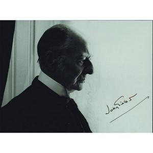 John Gielgud - Autograph - Signed Black and White Photograph