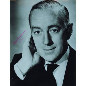 Alec Guinness - Autograph - Signed Black and White Photograph - Framed