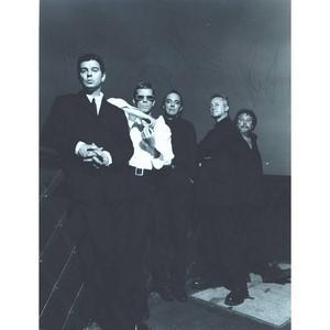 The Stranglers Signed Black and Whie Photograph