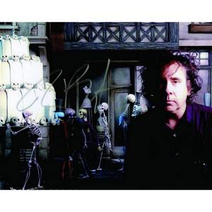 Tim Burton - Autograph - Signed Colour Photograph