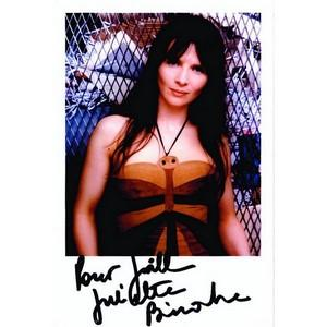Juliette Binoche  - Autograph - Signed Colour Photograph