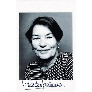 Glenda Jackson - Autograph - Signed Black and White Photograph
