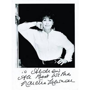 Nanette Newman - Autograph - Signed Black and White Photograph