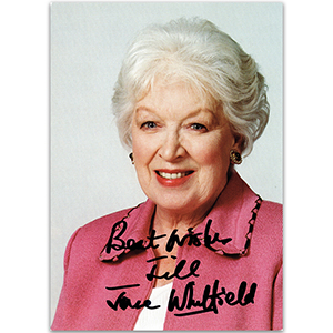 June Whitfield - Autograph - Signed Colour Photograph