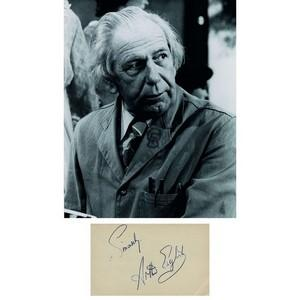 Arthur English - Autograph - Signed Black and White Photograph