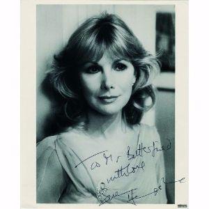 Susan Hampshire - Autograph - Signed Black and White Photograph