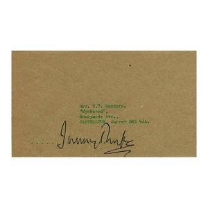 Jeremy Thorpe - Signature