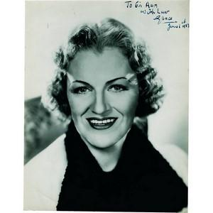 Gracie Fields - Autograph - Signed Black and White Photograph