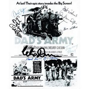 Dad's Army Cast Autograph