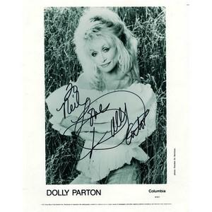 Dolly Parton - Autograph - Signed Black and White Photograph