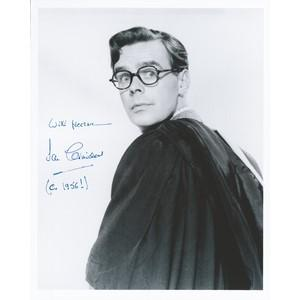 Ian Carmichael - Autograph - Signed Black and White Photograph