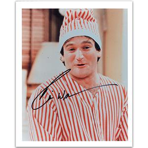Robin Williams - Autograph - Signed Colour Photograph