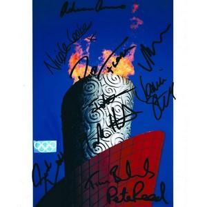 Beijing Olympics Athletes - 10 Signatures