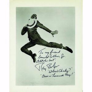 Ray Bolger - Autograph - Signed Black and White Photograph