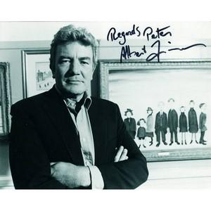 Albert Finney - Autograph - Signed Black and White Photograph