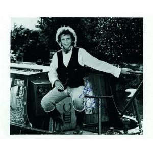 David Essex - Autograph - Signed Black and White Photograph