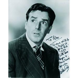 Brian Rix - Autograph - Signed Black and White Photograph