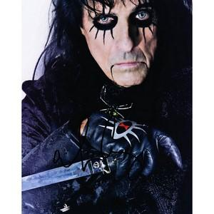 Alice Cooper - Autograph - Signed Colour Photograph