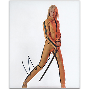 Uma Thurman - Autograph - Signed Colour Photograph