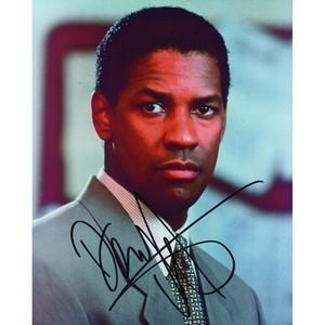 Denzel Washington - Autograph - Signed Colour Photograph