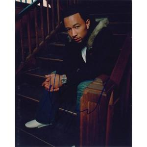 John Legend - Autograph - Signed Colour Photograph