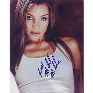 Michael Michele  - Autograph - Signed Colour Photograph