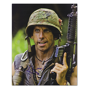 Ben Stiller - Autograph - Signed Colour Photograph