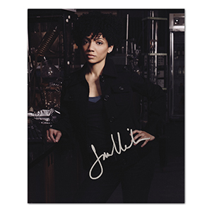 Jasika Nicole  - Autograph - Signed Colour Photograph