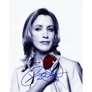 Felicity Huffman - Autograph - Signed Black and White Photograph