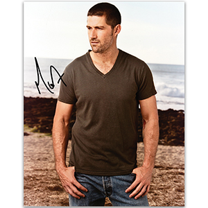 Matthew Fox - Autograph - Signed Colour Photograph