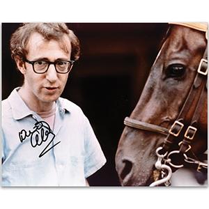 Woody Allen - Autograph - Signed Colour Photograph
