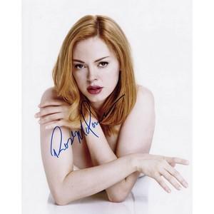 Rose McGowan - Autograph - Signed Colour Photograph