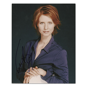 Cynthia Nixon - Autograph - Signed Colour Photograph