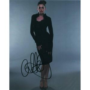 Anne Hathaway  - Autograph - Signed Colour Photograph