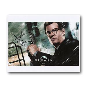 Jack Coleman  - Autograph - Signed Colour Photograph