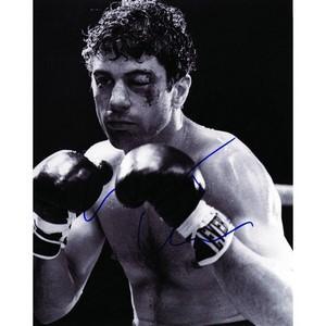Robert De Niro - Autograph - Signed Black and White Photograph