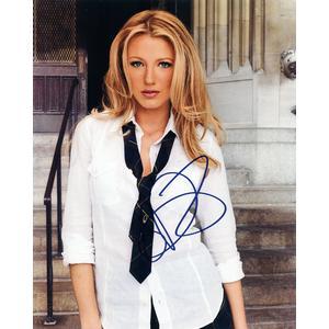 Blake Lively - Autograph - Signed Colour Photograph