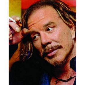 Mickey Rourke - Autograph - Signed Colour Photograph