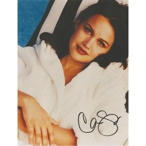 Carla Gugino - Autograph - Signed Colour Photograph