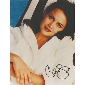 Carla Gugino - Autograph - Signed Colour Photograph