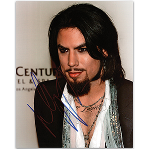 Dave Navarro  - Autograph - Signed Colour Photograph