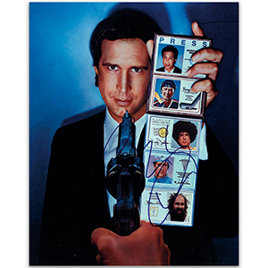 Chevy Chase  - Autograph - Signed Colour Photograph