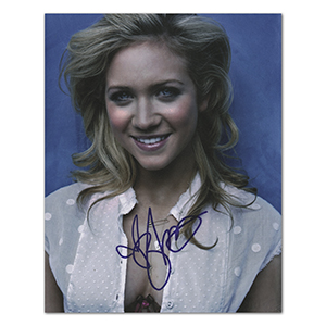 Brittany Snow  - Autograph - Signed Colour Photograph