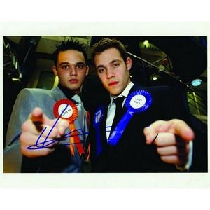 Gareth Gates & Will Young - Autographs - Signed Colour Photograph