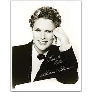 Sharon Gless Autograph Signed Photograph