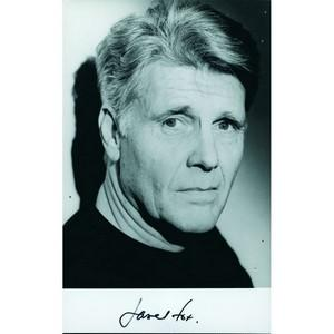 James Fox - Autograph - Signed Black and White Photograph