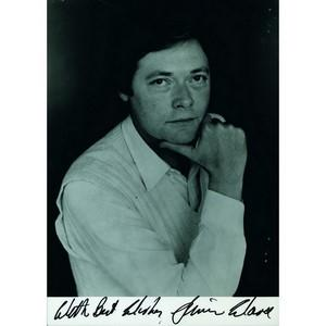 Simon Ward - Autograph - Signed Black and White Photograph