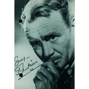John Mills - Autograph - Signed Black and White Photograph
