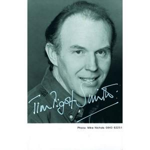 Tim Pigott-Smith  - Autograph - Signed Black and White Photograph
